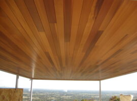 Cedar lined Freestanding Alfresco Perth Hills