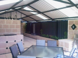 Colorbond Gable Patio Eden Hill