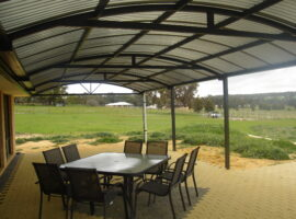 Corrugated Polycarbonate Dome Bullsbrook
