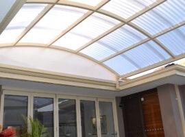 Corrugated Polycarbonate Dome Carine (2)