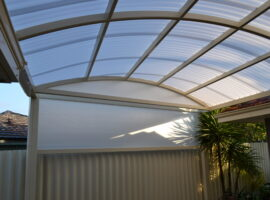 Corrugated Polycarbonate Dome Carine