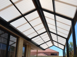 Corrugated Polycarbonate Patio Darch