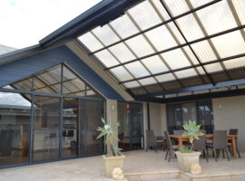 Custom Polycarbonate Gable Patio Menora