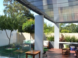 Grey Tint Multiwall Polycarbonate Mosman Park