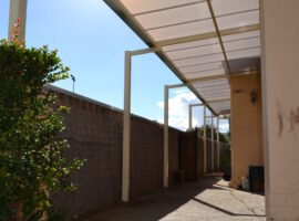 Multiwall Polycarbonate Flat Patio North Perth