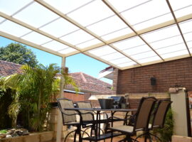 Multiwall Polycarbonate Flat Patio Scarborough