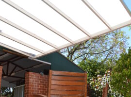 Multiwall Polycarbonate Flat Patio South Perth