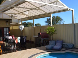 Multiwall Polycarbonate Gable Patio North Perth