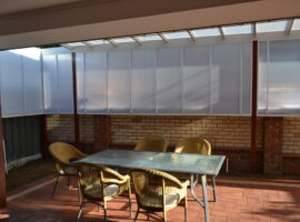 Multiwall Polycarbonate Raised Skillion Gwelup (2)