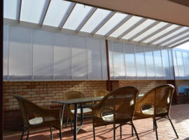 Multiwall Polycarbonate Raised Skillion Gwelup