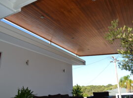 Natural Oiled Cedar lined Skillion Watermans Bay