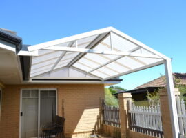 Polycarbonate Gable Patio Innaloo