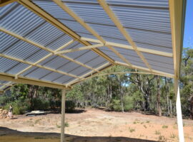 Polycarbonate Gable Patio Mundaring (2)