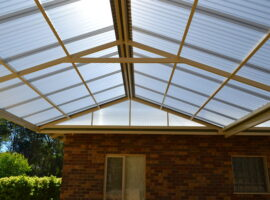 Polycarbonate Gable Patio Mundaring