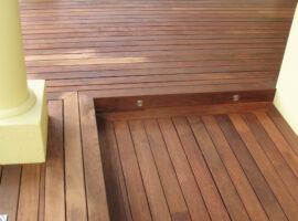 Rebated decking