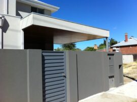 Rendered Board Alfresco with Cedar timber lining Mount Lawley