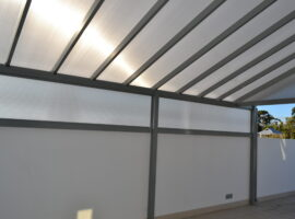Spanbar Enclosure Multiwall Polycarbonate Cottesloe
